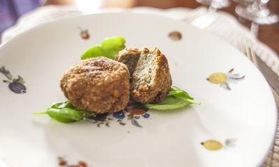 Una cena vegetariana a Roma